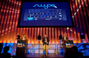 """Swype CEO Mike McSherry said he didn't think he had a chance in the """"Innovation of the Year"""" category given the steep competition from Microsoft's Kinect."""