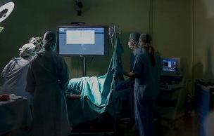Using Kinect in the operating room could help surgeons cut down on the risk of bacterial infection. (Microsoft photo)