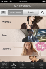 Nordstrom mobile shopping app offers convenience, style