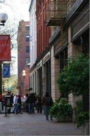 Seattle's historic Pioneer Square neighborhood