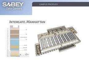 The floor plan for Sabey's Integrate.Manhattan data center.