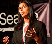 Sapna Cheryan, UW assistant psychology professor. (Stephen Brashear photo)