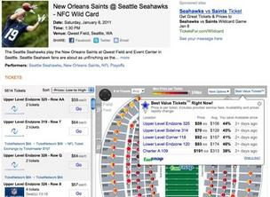 Hawks vs. Saints on Bing