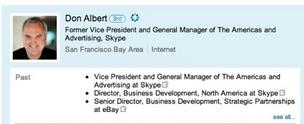 Former Skype VP reflects his recent departure on LinkedIn