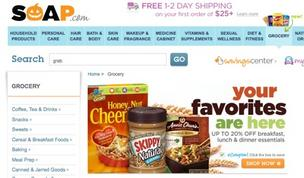 Amazon's Quidsi adds grocery delivery service