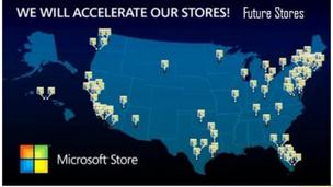 Microsoft plans to open 75 retail stores, will still lag behind Apple