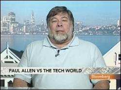 Patent troll or not, Paul Allen finds a friend in Steve Wozniak
