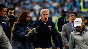 Seattle Seahawks coach Pete Carroll
