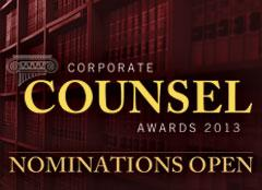 Corporate Counsel of the Year 2013