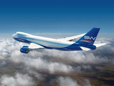 Silk Way Airlines has ordered two Boeing 747-8 freighters.