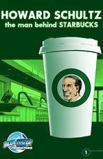 Starbucks CEO Schultz immortalized in comic book