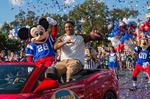 Super Bowl MVP Smith goes to Disney World
