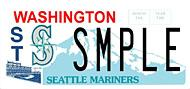 The Seattle Mariners currently have a specialty license plate available through the state Department of Licensing. The Seattle Seahawks and Seattle Sounders would each have their own specialty plate, if SSB 5512 is approved by the state Legislature.