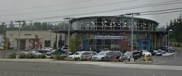 Mercedes Benz Of Lynnwood Is Located At 17800 Highway 99 In Lynnwood.