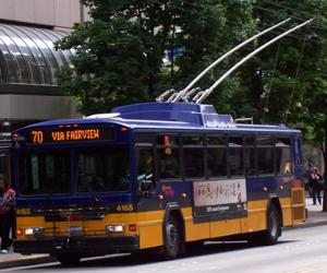 King County Metro is experiencing its second highest ridership year, the transit agency reported on Tuesday.