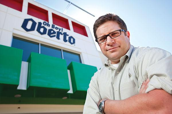 Oberto CEO Tom Ennis at the company's production facility in Kent, Wash.