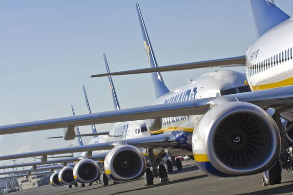 Ryanair operates an all-Boeing fleet of 737s