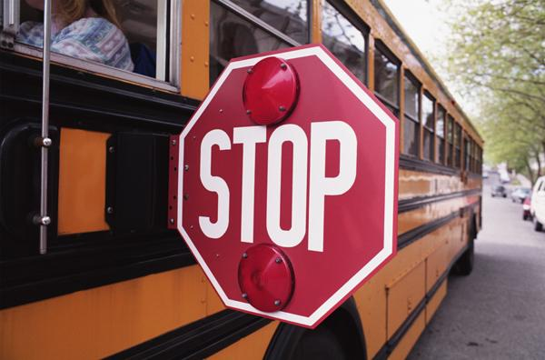 Unionized school bus drivers are set to strike on Wednesday.
