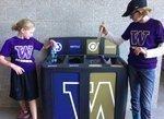 UW Athletics installs recycling stations