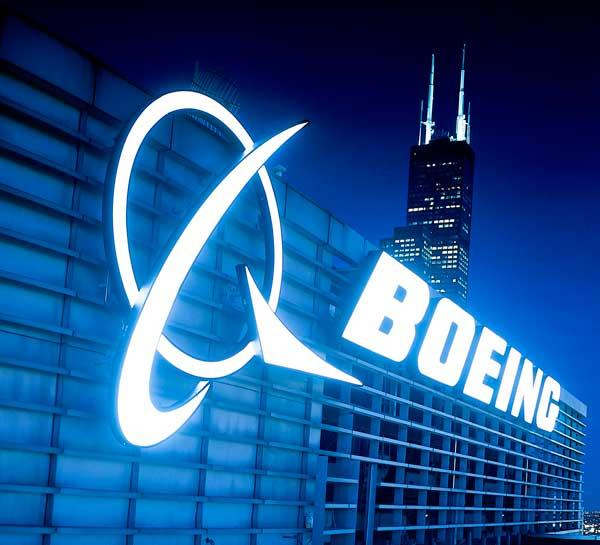 Boeing beat analysts estimates in the fourth quarter.
