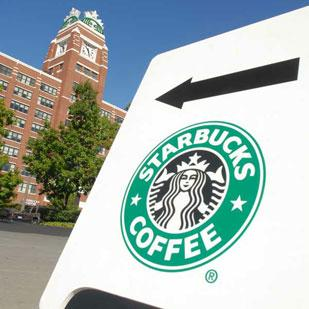People interested in working for Starbucks can apply for jobs there on Facebook.