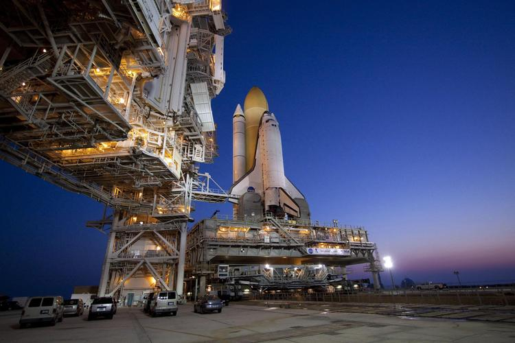 Blue Origin hopes to launch its New Shepard launch system from pad 39A, which launched all the space shuttles, including Atlantis, shown above in 2010.