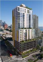 Construction starts on 27-story apartment in Belltown