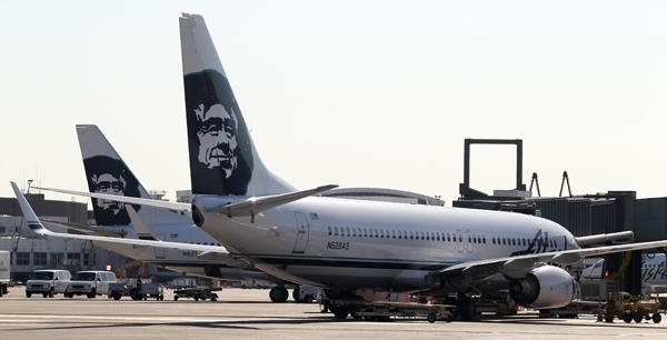 Alaska Airlines customers experienced major delays Monday after the company's computerized check-in system went down.