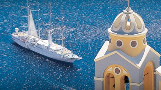 Windstar Cruises sails in the Mediterranean, Greece & Turkey, the Caribbean, Costa Rica, the Panama Canal, the Baltics and other destinations.