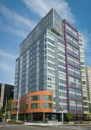 Alto, at 311 Cedar St. in Seattle, opened in April with 184 units. Rents for one-bedroom units range from $1,400 to $2,100.