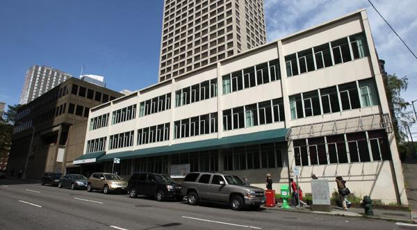 Schnitzer West plans to build a 36-story office tower on the southeast corner of Fifth Avenue and Madison Street in downtown Seattle.