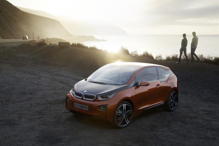 BMW'S new i3 concept coupe is made from carbon fiber manufactured in Moses Lake.