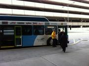 Airport buses will ferry renters on a four-minute ride to Sea-Tac's new rental center.