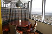 The newly renovated Columbia Tower Club Harvest formal dining room features the Pike Place Market chef's table. Each night there will be two seatings at the table that will feature a five-course tasting menu by chef de cuisine Juan Garcia created with ingredients from the market.
