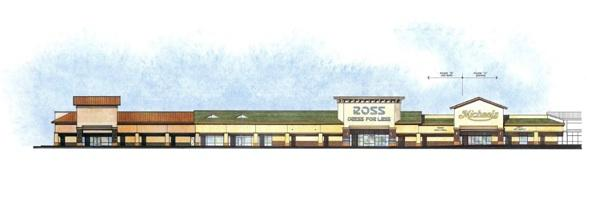 An artist's rendering shows plans for renovation of Celebration Center in Federal Way.