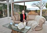 Broker Jessica Xu of Realogics Sotheby's International Realty in a $4.3 million Kirkland home on Lake Washington. She's  marketing to buyers  in China.