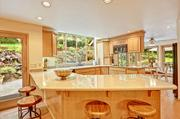 The kitchen of a Sammamish home that recently sold for $1.043 million to Chinese  buyers.
