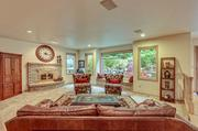 The living room of a Sammamish home that recently sold for $1.043 million to Chinese  buyers.
