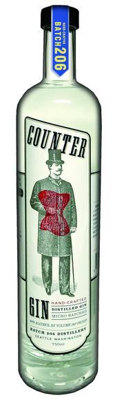 Seattle's Batch 206 Distillery, No. 4 in the state, produced 4,273.76 proof gallons in 2012. It makes Batch 206 Vodka, Batch 206 Counter Gin and Batch 206 See 7 Stars Moonshine.