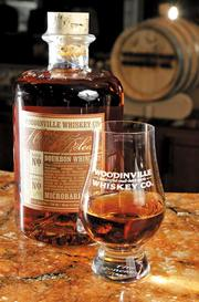 Woodinville Whiskey Co. is the No. 1 craft distiller in Washington state, producing 36,020.24 proof gallons in 2012. Its products include Peabody Jones Vodka, The Microbarreled Collection and Woodinville Age Your Own Whiskey kit.