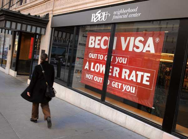 BECU has seen new memberships surge since Bank of America announced a new $5 debit-card fee.