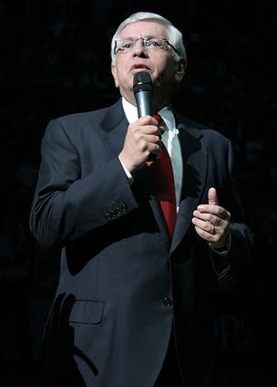 NBA Commish David Stern is stepping down from the league in 2014.