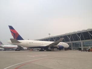 Delta Air Lines Inc. reported Wednesday its September system traffic rose 1.8 percent with Latin American routes again leading the way.</p> <p>