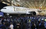 Boeing unveils its 1,000th 777 in Emirates ceremony