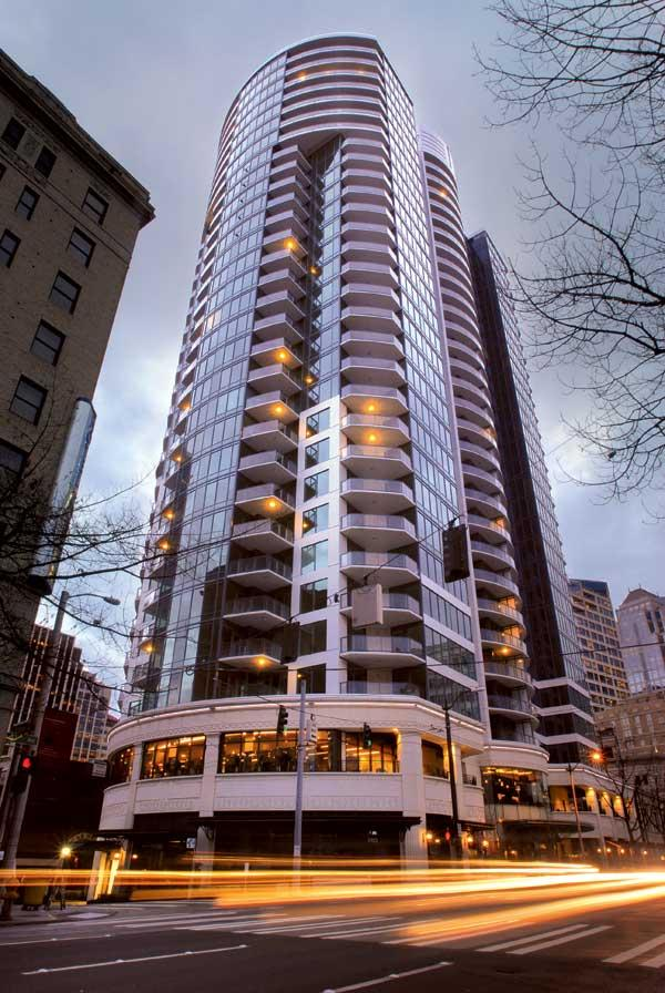 A penthouse in Escala sold last week for $6.2 million. The Escala broker said that's the highest price paid for a condo in Seattle in three years.