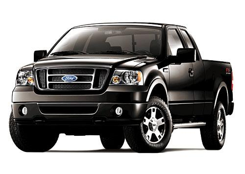 Ford is giving its F-150 a makeover, and the company's Kansas City  Assembly Plant in Claycomo, Mo., will produce the revamped trucks. This  is a current model of the truck.