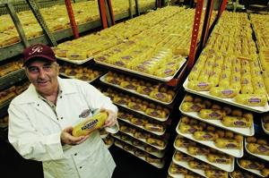Jerry Mascio, founder of San Gennaro Foods, has made packaged polenta available to those who don't want to spend 45 minutes stirring the corn meal dish.
