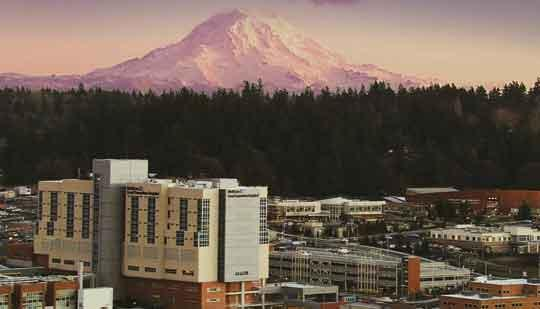 MultiCare Health System's new $400 million tower at Good Samaritan Hospital in Puyallup.