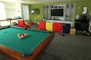 An employee break and game room at Google's offices in Seattle's Fremont neighborhood.