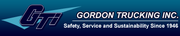 12. Gordon Trucking Inc., based in Pacific, posted revenue of $557 million for 2012.
